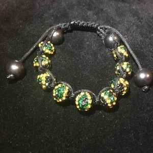 Jewelry - Rhinestone beaded bracelet